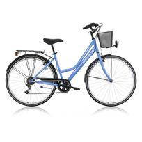 Descheemaker - Vélo De Ville Dame Avenue 18 Vit. Bleu 2016