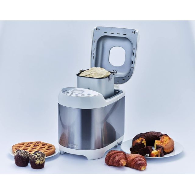 Ariete Machine à pain avec écran Lcd 550W gris blanc