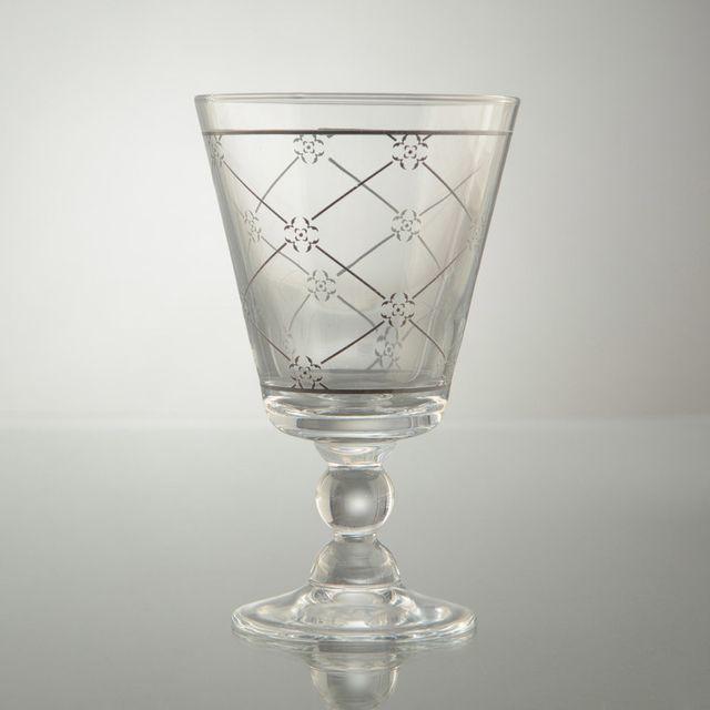 Amadeus Verre à eau transparent motif charme 31.5 cl - Lot de 6 Lumieres Du Nord