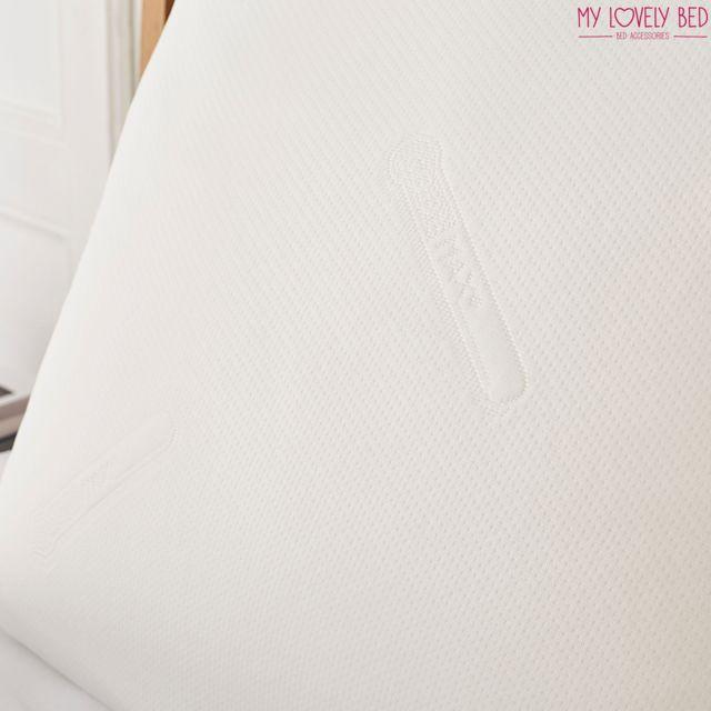 Soyeux et Confortable Fermeture par Zip My Lovely Bed Forme Rectangulaire Viscose Prot/ège Oreiller 50x70cm