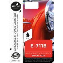 JETLINE - Cartouche noire E-711B