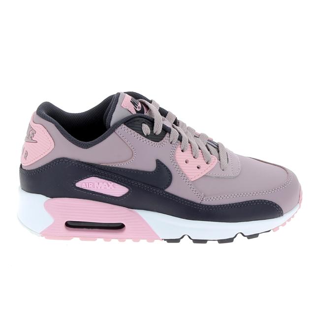 Nike Air Max 90 LTR GS 833376 107 | Weiß, Schwarz, Pink