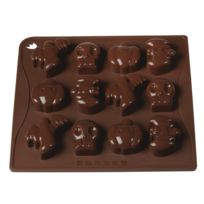 Pavoni - Moules silicone chocolat Halloween