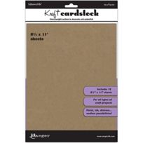 Ranger - Inkssentials Kraft Surfaces 10/PKG-8-1/2 « X 11