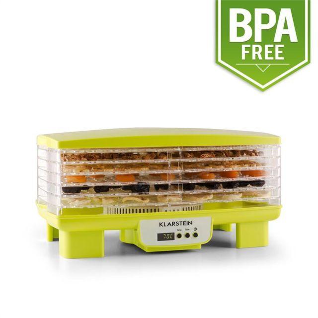 KLARSTEIN Bananarama Déshydrateur alimentaire 550W 6 étages -vert