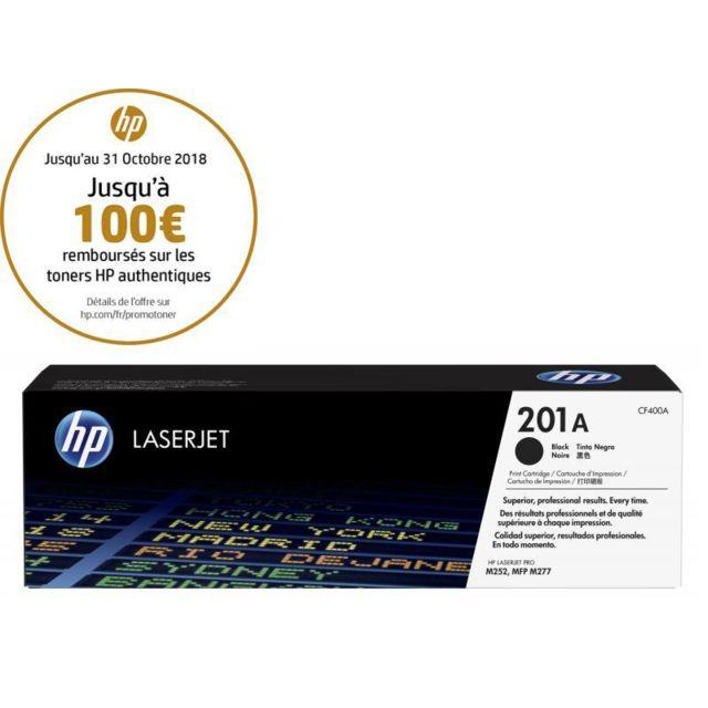 HP CF400A -Toner 201A Noir HP 201A Toner Noir authentique pour HP Color LaserJet Pro MFP M176n/177 fw