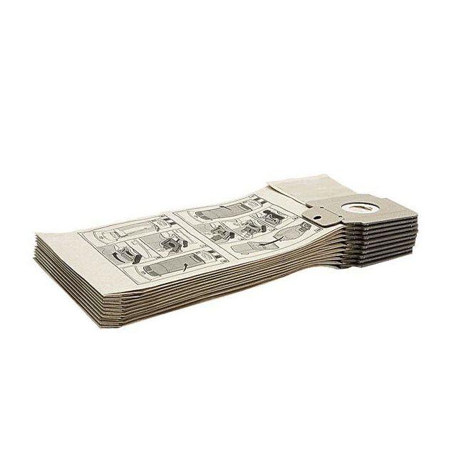 Karcher Lot de 10 sacs en papier classe M pour Cv 30/1 - 69042940