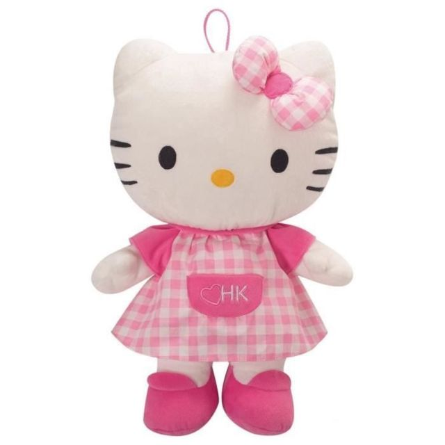 PELUCHE Hello Kitty peluche range pyjama +/- 40 cm
