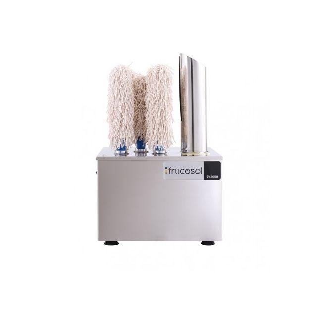 Frucosol Machine à Essuyer et Polir 240 Verres / Heure