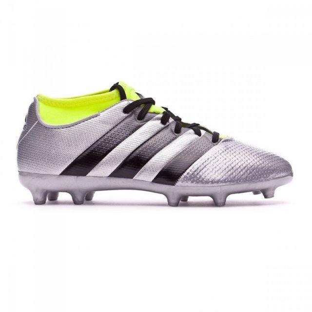 best service ba951 2d151 Adidas performance - adidas jr Ace 16.3 Primemesh FgAG Silver  metallic-Black-. Description Fiche technique. Nouvelle génération de la chaussure  Ace 16 ...