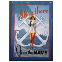 Universel - Plaque pin up ancre marine join the navy tole deco sexy pub 33d0074dfc1