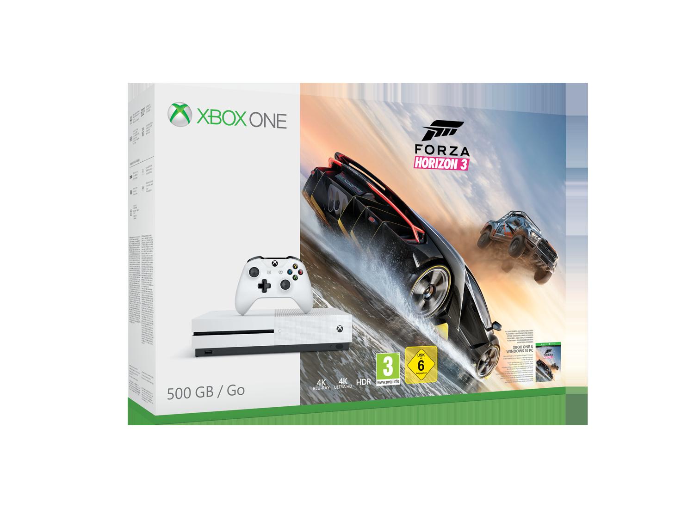 Xbox One S 500 Go Forza Horizon 3