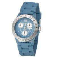 Newave - Montre sport bleue bracelet gomme Nwh210BL