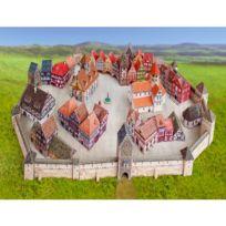 Schreiber-bogen - Maquette en carton : Ville médiévale