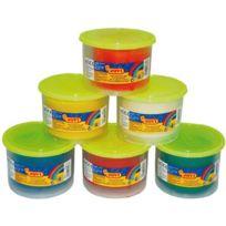 Jovi - Pack de 6 pots de 480g de pâte à jouer blandiver