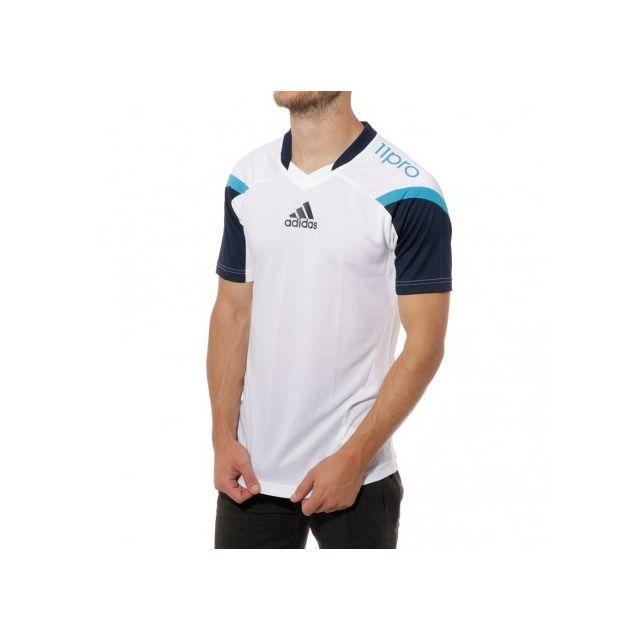Adidas originals 11Pro Homme Maillot Football Blanc Adidas