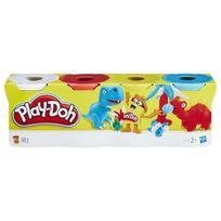 Playdoh - Play-doh 4 Pots Couleurs Classiques