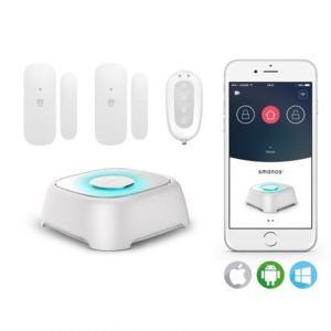 smanos alarme connect e wifi w020 pas cher achat. Black Bedroom Furniture Sets. Home Design Ideas