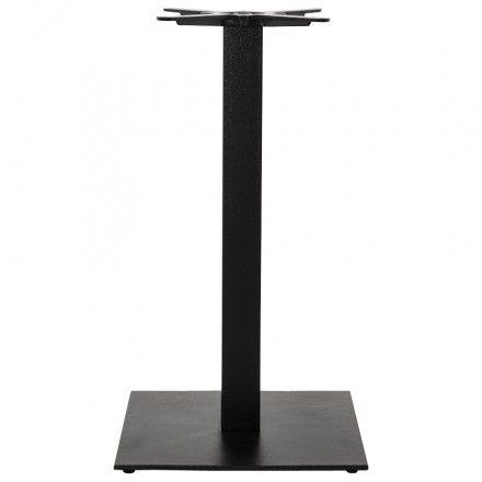 TECHNEB Pied de table PARY carré en métal 50cmX50cmX90cm, noir