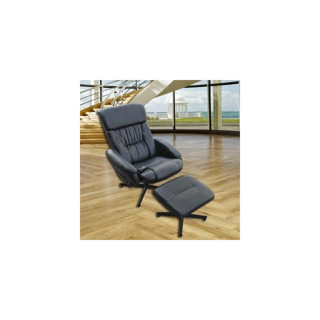 Fauteuil Massage Vibrant Duo Cuir