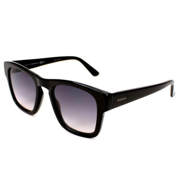 76fcd40907e3a4 Gucci - Gg-3791-S 807 9C Noir - Lunettes de soleil - pas cher Achat   Vente  Lunettes Tendance - RueDuCommerce