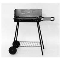 LEBARBECUE - Barbecue FUN GRILL - Acier - Grille 49x28 cm
