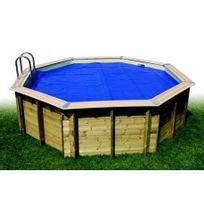 Ubbink - Bâche à bulles Ø 3,50 m pour piscine bois hexagonale 410