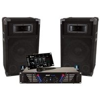 Kit de sonorisation DJ-300 - BOOST300 - Noir