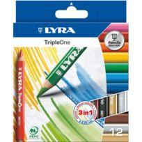 Lyra - crayon de couleur triple one d6.25mm - etui de 12