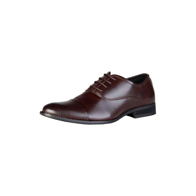 Pierre cardin - Chaussures richelieu homme - Marron - pas cher Achat ... 21af2757c2de
