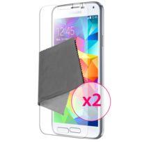 Caseink - Films de protection Anti-Reflet Hd Samsung Galaxy S5 G900 Pack de 2