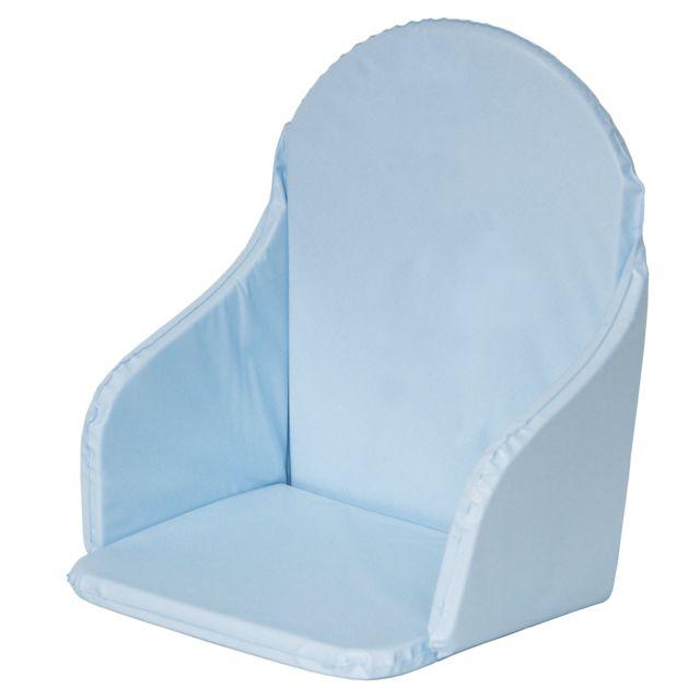 alin a noe coussin pour chaise haute coloris bleu turquoise pas cher achat vente chaises. Black Bedroom Furniture Sets. Home Design Ideas