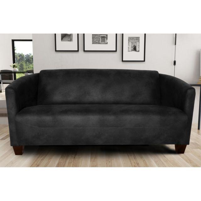 Rocambolesk Canapé Havana 3 Tobago 17 antracite sofa divan