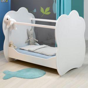Alinéa - Cloud Lit bébé blanc 60x120cm - pas cher Achat / Vente ...