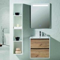 Meuble salle de bain 80 cm achat meuble salle de bain 80 cm pas cher rue du commerce - Meuble salle de bain rue du commerce ...
