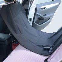 PAWHUT - Tapis de protection imperméable pour siège voiture pour chien chat animal de compagnie housse couverture protection 145 l x150 l cm noir 39
