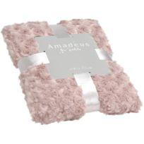 AMADEUS LES PETITS - Plaid enfant en polyester Petites Roses