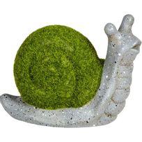 Alinéa - Countryside Escargot décoratif en terre cuite et mousse synthétique H15cm