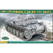 Ace Authentic - Maquette Char léger allemand PzKpfw Ii Sd.Kfz.121 Ausf F