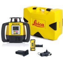 LEICA - LASER Rugby 680 avec coffret avec batterie Li-ion et cellule de réception Rod Eye 160- 6006010