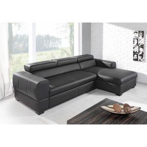 relaxima freedom canap d angle convertible gauche ou droit avec coffre t ti res amovibles. Black Bedroom Furniture Sets. Home Design Ideas