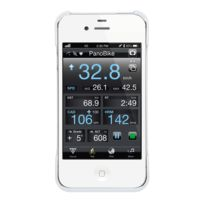 Topeak - RideCase Ii for iPhone 4/4S Accessoire sac blanc