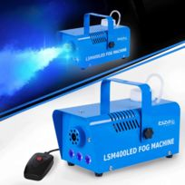 Ibiza Light - Machine à fumée Led Bleu 400W Lsm400LED-BLU