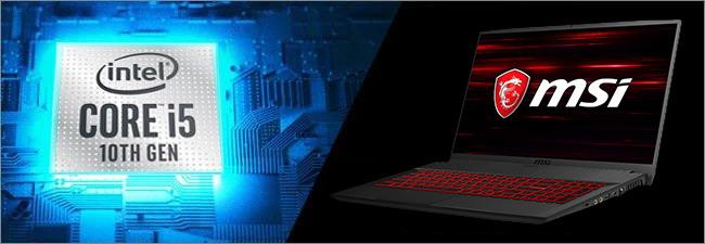 MSI GF75 - Processeur Intel Core i5 10th