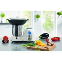Tv Top Ventes - Thermo-multicuiseur Deluxe - Robot Culinaire qui pèse, prépare et cuit vos repas