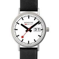 Mondaine - Montre Classic A669.30008.16SBO - Montre Noir Classique Mixte