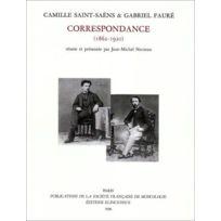 Symetrie - Correspondance 1862-1920 : Soixante ans d'amitié, édition Jean-Michel Nectoux