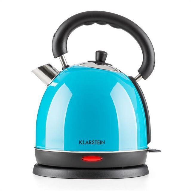 KLARSTEIN Teatime bouilloire théière 3000 W 1,8 l acier - bleu