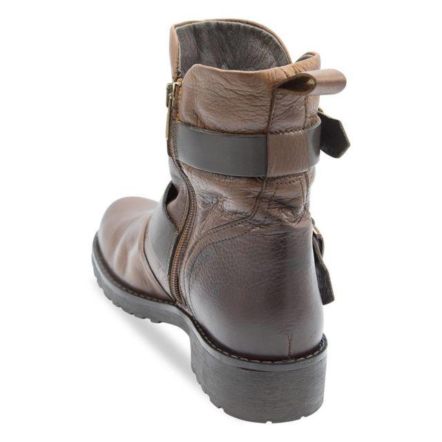 Coco & Abricot - Boots Fidjy Coco Abricot Or - 36