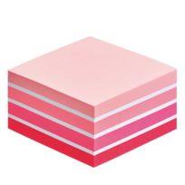Post-it - Bloc cube couleurs aquarelle rose 76 x 76 mm - bloc de 450 feuilles